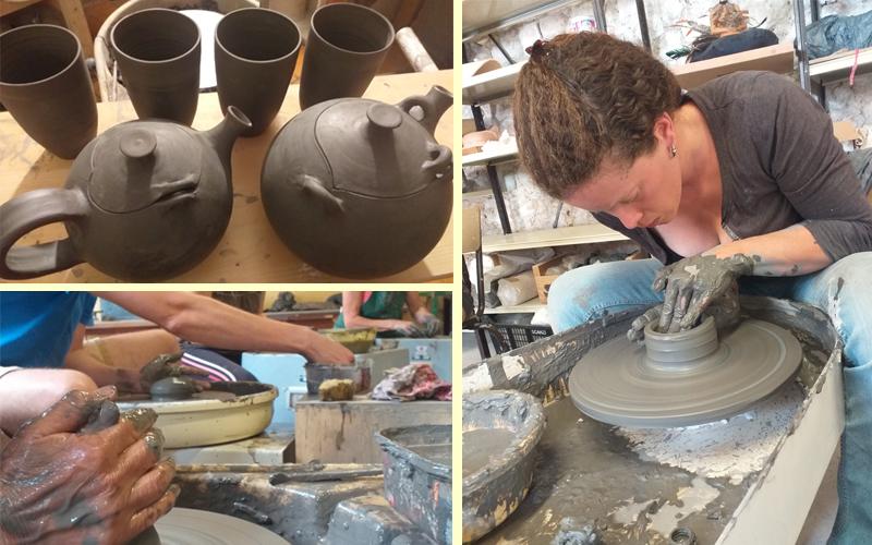 Les stages poterie herault et stage poterie Montpellier de l